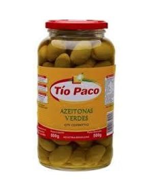 Azeitona Tio Paco 500G Vidro