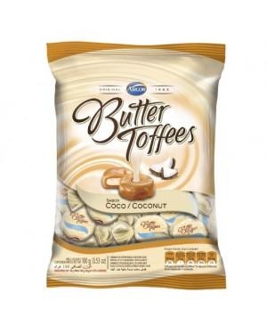 Bala Arcor Butter Toff Coco 100G