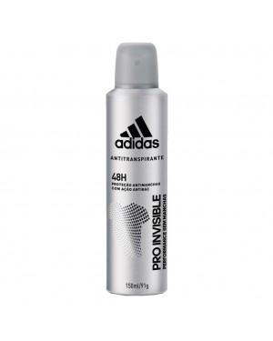 Desodorante Adidas Aerosol 150ML Pro Invisible Masculino