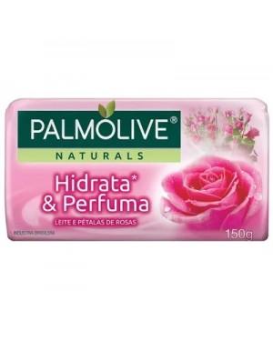 Sabonete Palmolive Naturals Leite e Pétalas de Rosa 150g
