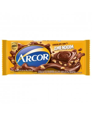 Chocolate Arcor 80g Amendoim