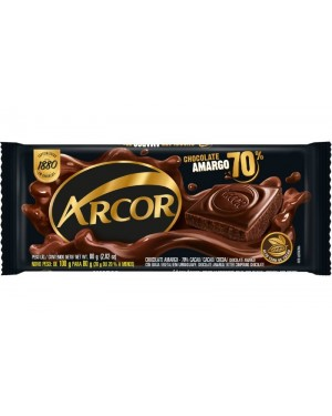 Chocolate Arcor 80G 70% Amargo