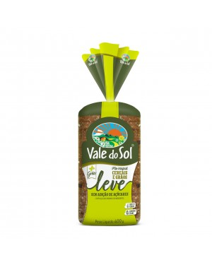 Pão Vale do Sol Integral 400G Cereais e Graos