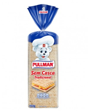 Pão Pullman 450G Forma s/Casca