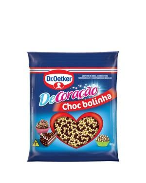 Confeito Oeteker Chocolate Bolinha 80G