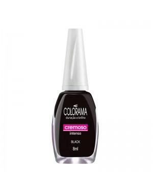 Esmalte Colorama 8Ml Cremoso Black