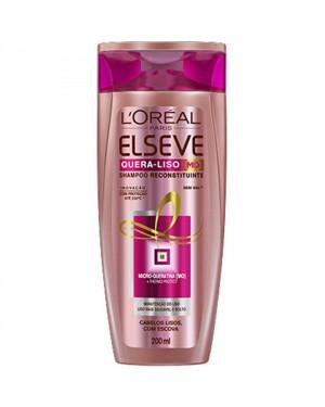 Shampoo Elseve 200Ml Quera Liso Reconstrução