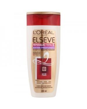 Shampoo Elseve 200ML Reparação Total Extra Profunda