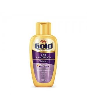 Shampoo Niely Gold 300Ml Liso Prolongado