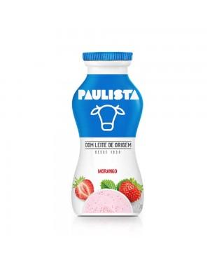 Bebida Lactea Paulista 170g Morango