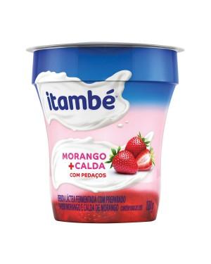 Bebida Lactea Itambe 130G Bicamada com Pedaços Morango