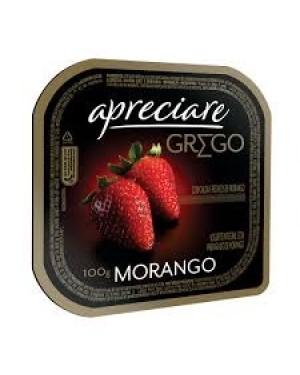 Iogurte Apreciare Grego 100G Morango