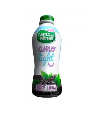 Iogurte Canto de Minas 900G light Ameixa
