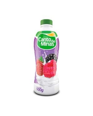 Iogurte Canto de Minas 900G Frutas Vermelhas