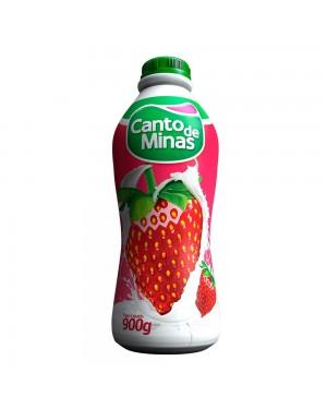 Iogurte Canto de Minas 900G Morango