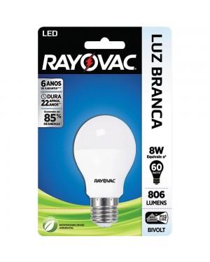 Lampada Rayovac Led 8W Bulbo Bivolt