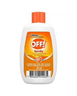 Repelente Off 60Ml Family Loção