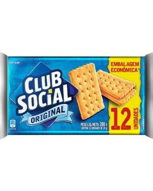 Biscoito Club Social 288G Original