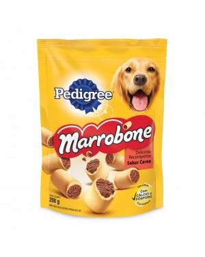 Ração Biscoito Pedigree 200G Marrombone Carne
