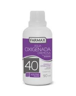Agua Oxigenada Farmax 90ML Volume 40