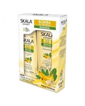 Kit Skala Shampoo + Condicionador Skala 325ML Bomba Banana
