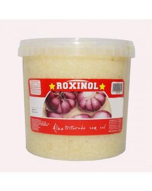 Alho Triturado Roxinol 2kg Sem Sal