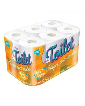 Papel Higienico Carinho Toilete Folha Dupla 30m 12x1 Neutro Lv 12 PG 11
