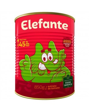Extrato Tomate Elefante 850G