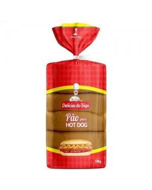 Pão Delicias Do Trigo 500G Hot Dog