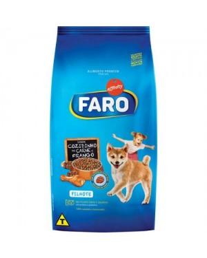 Ração Faro 7KG Carne e Frango Filhote