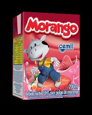Bebida Lactea Cemil 200ML Morango