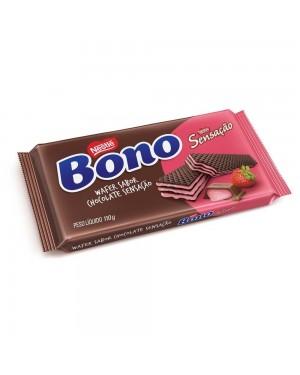 Biscoito Waffer Bono 110G Sensação Morango