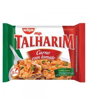 Macarrão Nissin Talharim Carne Tomate 99G
