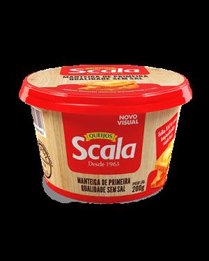 Manteiga Sem Sal Scala 200G