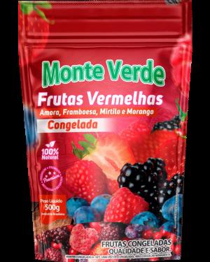 Mix Frutas Vermelhas Congelado Monte Verde 500g