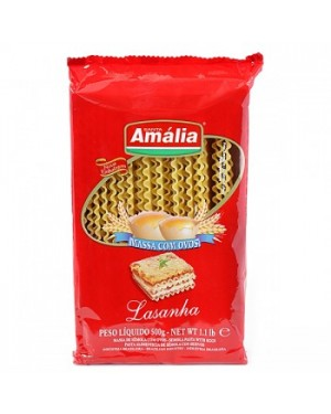 Macarrão Lasanha com Ovos Santa Amalia 500g