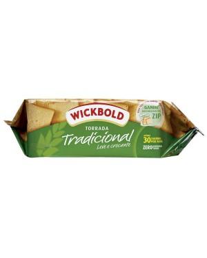 Biscoito Wick Bold Torrada 140g Tradicional