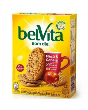 Biscoito Belvita 75g Maça e Canela
