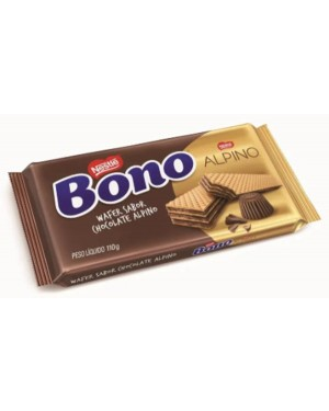 Biscoito Nestle Wafer 110G Bono Alpino