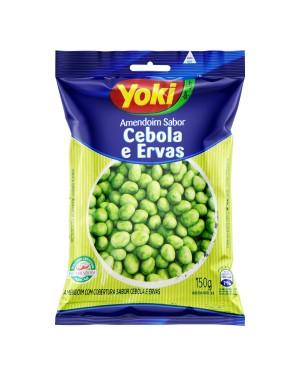 Amendoim Cebola e Ervas Yoki 150G