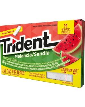 Chicle Trident Melancia 14S 25,2G