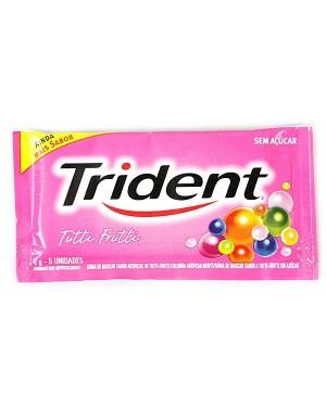 Chicle Trident Tutti Frutti 8G 5Un