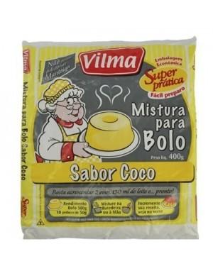 Mistura Bolo Vilma 400G Coco