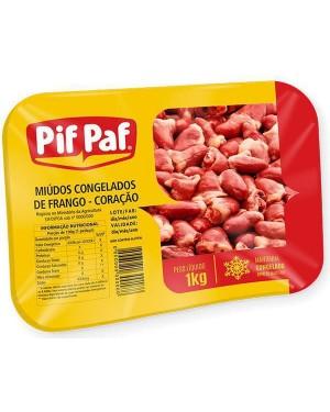Coração de Frango Pif Paf 1Kg
