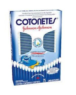 Cotonetes Johnsons Flexíveis 75 Unidades