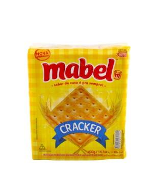 Biscoito Mabel 400G  Cream Cracker