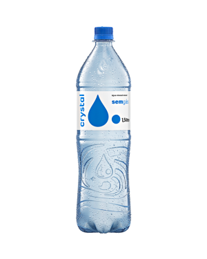 Agua Mineral Crystal 1,5L S/Gas
