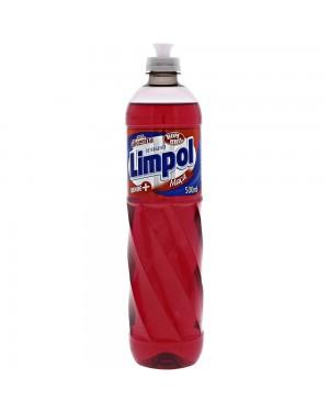 Detergente Limpol Líquido 500Ml Maçã