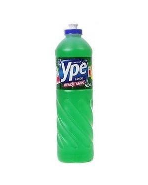 Detergente Ypê Líquido 500Ml Limão