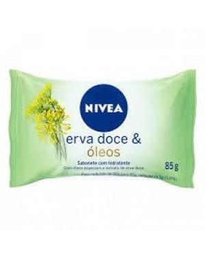 Sabonete Nivea 85g Hidratante erva doce e oleo
